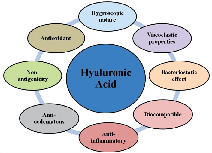 Figure 2: Properties of hyaluronic acid